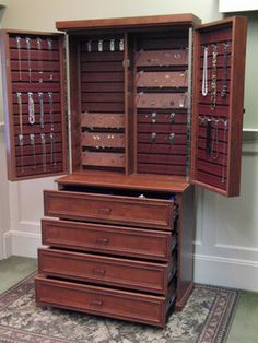Jewelry And Accessory Cabinets | Jewelry Cabinet   Traditional   Storage  And Organization   New York