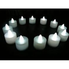 Battery Operated Tea Lights **R13** for R13.00