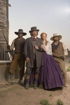 Comanche Moon (2008) | Starring Steve Zahn, Val Kilmer, Elizabeth Banks, Linda Cardinelli, and Karl Urban