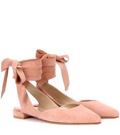 STUART WEITZMAN Supersonic suede ballerinas. #stuartweitzman #shoes #flats