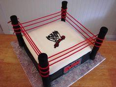 Ring Cake Wrestling And Wwe On Pinterest