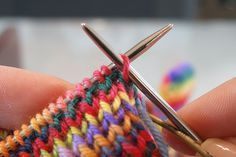 Invisible bind off (tubular bind off in ribbing) - This tutorial is a good one, too.