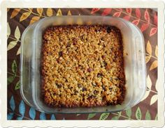 Life Blessons: Homemade Chewy Granola Bar Recipe<< looks delicious!