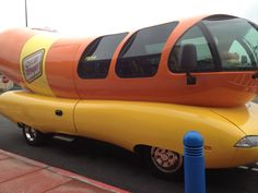 The Weinermobile was on the South Side of Chicago. Yay, Oscar Mayer...