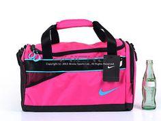 68a497d85e Nike Female Varsity Duffle Bag Pink Foil-Black-Gamma Blue 2013 Travel  BA4732-614