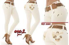 Pantalón colombiano ene2   +Modelos en:  http://www.ropadesdecolombia.com/index.php?route=product/category&path=112   #pantalón #pantalones #pantalonescolombianos #moda #jeans #pantalon