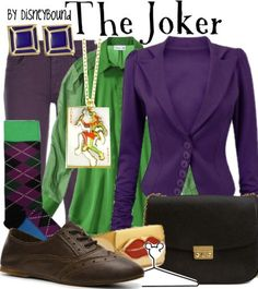 disneybound - 0 results for Batman Nerd Fashion, Fandom Fashion, Disney Fashion, Punk Fashion, Lolita Fashion, Disney Themed Outfits, Disney Bound Outfits, Joker Outfit, Dc Comics