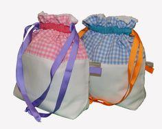 Bolsas de tela confeti!!