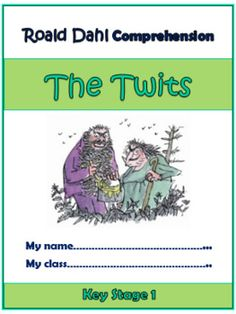 The Twits Comprehension Activities Booklet! The Twits, Key Stage 1, Comprehension Activities, Roald Dahl, Child Love, Guided Reading, Booklet, Novels, Range