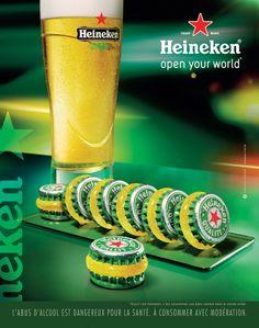 Heineken - Macaron Toy Story, Lager Beer, Guerilla Marketing, Guerrilla, Food Photo, Macarons, Alcoholic Drinks, Advertising, Woody