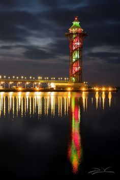 Erie Pa in December #lighthouse http://www.roanokemyhomesweethome.com