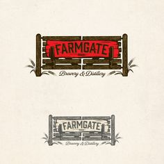 Farmgate Brewery and Distillery | 99designs