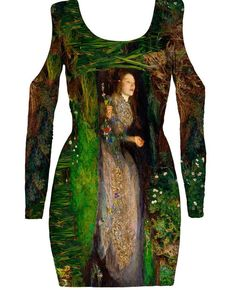 There are even magnificent things for English romantics, like this dress of OPHELIA AND HER FLOWERS. | This Bizarre Website Will Fulfill Your Most Titillating Christmas Wishes