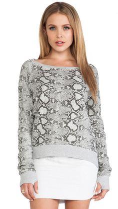 Pam Gela Printed Hi-Lo Sweatshirt is on sale now for - 25 % !