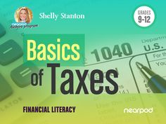 Check out this amazing Financial Literacy presentation on Basics of Taxes for 12th!