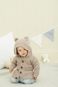 Baby Jacket knitting project shared on the LoveKnitting Community