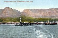 Postcards of the Past - Vintage Postcards of Cape Town, South Africa Old Pictures, Old Photos, South Afrika, My Land, Historical Pictures, Cape Town, Vintage Postcards, Old Houses, The Past