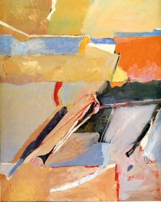 Early 1950s painting by Richard Diebenkorn.