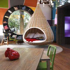 fun bedroom idea lovein' the swing thing-chair-mabob