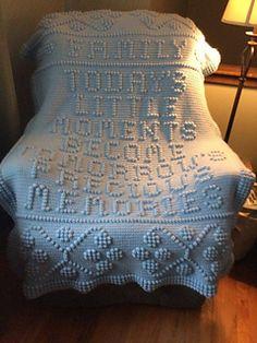 Ravelry: 93 Today's little moments pattern by Nancy Liggins Crochet Afgans, C2c Crochet, Crochet Baby, Crochet Hearts, Crochet Stitches, Crotchet Patterns, Afghan Crochet Patterns, Knitting Patterns, Arm Knitting