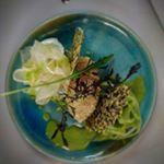 Bio Kulinarik Salat Gralhof Glasur eigene Keramik - handmade organic Soulfood Hummus, Mexican, Organic, Ethnic Recipes, Food, Essen, Meals, Yemek, Mexicans
