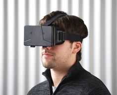 Promotional Virtual Reality Headset Supplied In A Gift Box Virtual Reality Goggles, Virtual Reality Headset, Application 3d, Innovation, Smartphone, Shops, Vr Headset, Stretch Bands, Samsung Galaxy
