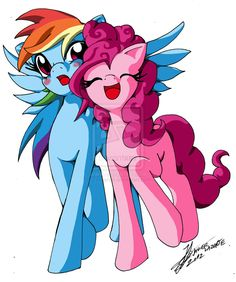 rainbow dash and pinkie pie - Google Search