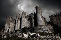 Dark Castle Photograph  - Dark Castle Fine Art Print