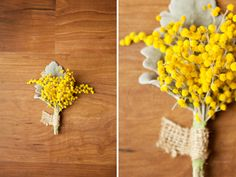 very cool boutonnieres