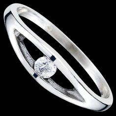 Elegant Silver Ring With Cubic Zirconia only $31 NZD http://blueshinejewellery.com/collections/silver-rings-toe-rings/products/silver-ring-cz-oval Silver ring, Ag 925/1000 - sterling silver. With stones (CZ - cubic zirconia). A fine ring set with a round zircon. Available in different colours. #silverring   #silverjewelry   #jewelryforwomen   #sterlingsilverjewelry