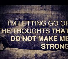 Negative thought stopping