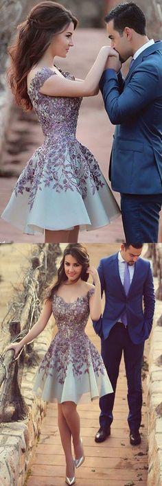 2016 homecoming dress,vintage homecoming dress,lace homecoming dress,purple…