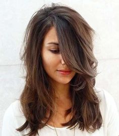 haircut long hair layers