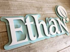 Laser Cutter Ideas, Laser Cutter Projects, Cnc Projects, Wooden Letters, Monogram Letters, Wooden Signs, Name Wall Decor, Name Wall Art, Diy Baby Gifts