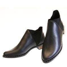 Bota cano curtinho Preto 1382 Moselle | Moselle sapatos finos femininos! Moselle sua boutique online.