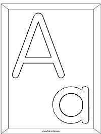Feel better soon block letter coloring pages ~ Here's a Set of Printable Alphabet Letters to Download and ...