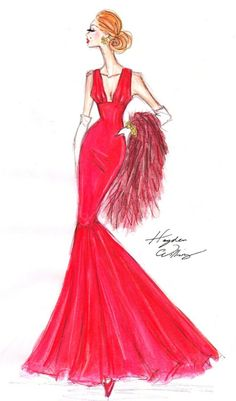 fashionillustr.quenalbertini: Hayden Williams Sketch