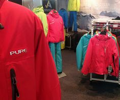 Pure setup at the SIA Snow Sports Trade Show in Canberra. Outdoor Apparel, Outdoor Outfit, Trade Show, Fashion Brand, Behind The Scenes, Snow, Pure Products, Fashion Outfits, Sports