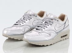 "Nike WMNS Air Max 1 SP ""Liquid Silver"" - SneakerNews.com"