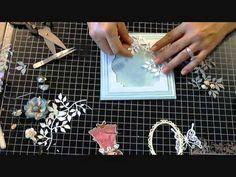 Justafeww -  Card tut using Pearl Stamp