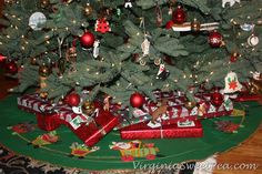 christmas presents under the tree | Presents under the tree