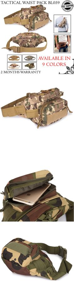 Waist Packs and Bags 181380: Tactic Military Waist Bag Molle Outdoor Utility Running Hiking Fanny Pack Pouch -> BUY IT NOW ONLY: $38 on eBay!