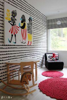 Sisustus - lastenhuone - Skandinaavinen - Moderni - 53650e7b498e29c7fed877b4 - sisustus.etuovi.com