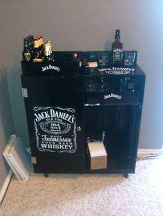 7 best My homemade Jack Daniel\'s mini bar images on Pinterest | Mini ...