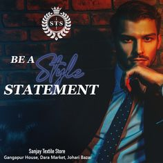 Be a Style Statement! #sanjaytextilestore #stsjaipur #menswear #suits #sherwani #kurta #designersuits #tuxedosuits #blazer #wedding #formal #dresses #groom #tailoring #stylish #ethnicwear #tshirts #jeans #jackets #weddingdress #weddingday #love #fashion #weddings #dress #weddingideas #style Formal Suits, Formal Dresses, Wedding Dresses, Sherwani, Tuxedo, Mens Suits, Weddingideas, Groom, Menswear
