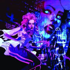 Stream Suy by PANDA from desktop or your mobile device Cyberpunk 2077, Arte Cyberpunk, New Retro Wave, Retro Waves, Character Inspiration, Character Design, Neon Noir, Wave Art, Cybergoth