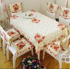 Grátis frete / Patchwork applique toalha de / cadeira mat / cadeira coberta / Material : 100% algodão / um conjunto 13 pcs