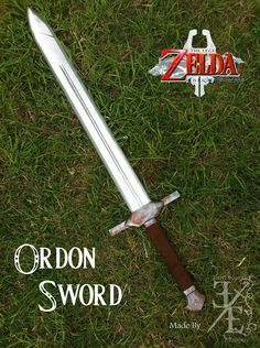 How to Make Link'sOrdon Sword From 'The Legend of Zelda: Twilight Princess' Out of Wood