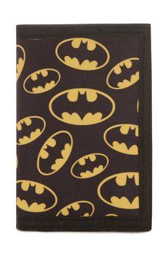 Black Batman Wallet