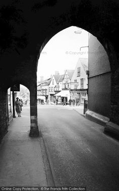 Chepstow, High Street From Town Gate 1957, from Francis Frith